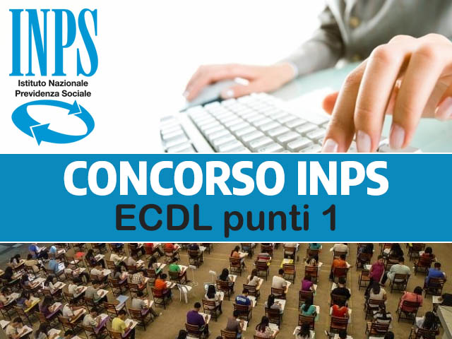 Concorso INPS Certificazione Informatica 1 punto