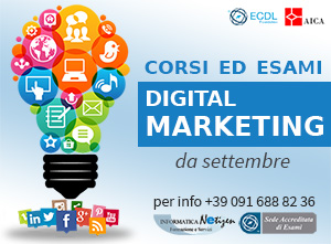 Informatica Netizen - Digital Marketing ECDL