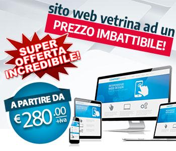 Sito Web a partire da 280€