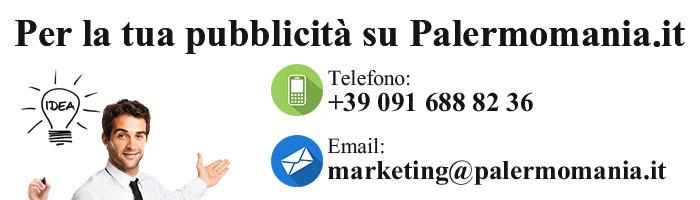 Per la tua pubblicita su Palermomania.it