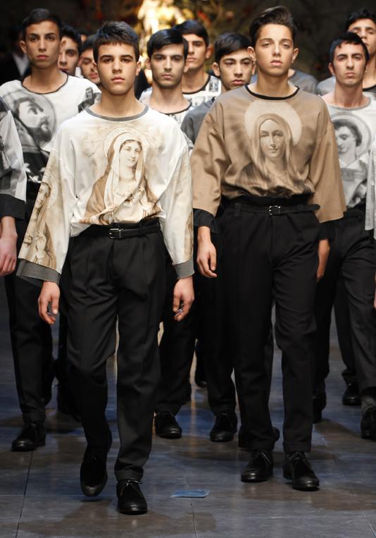 In passerella lo stile siciliano di Dolce Gabbana - Vincenzo Parisi 7dec1c0ecce