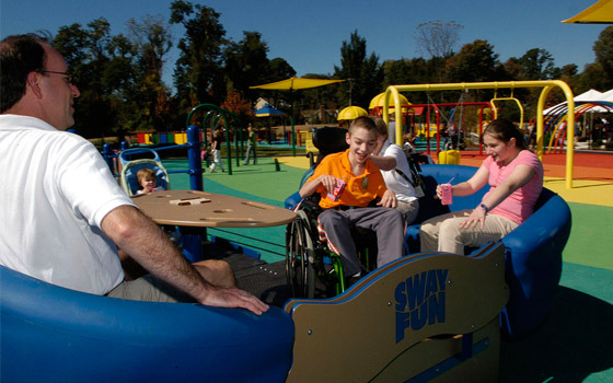 Letto Per Bambini Disabili : Capaci nasce il primo parco giochi per bimbi disabili del sud