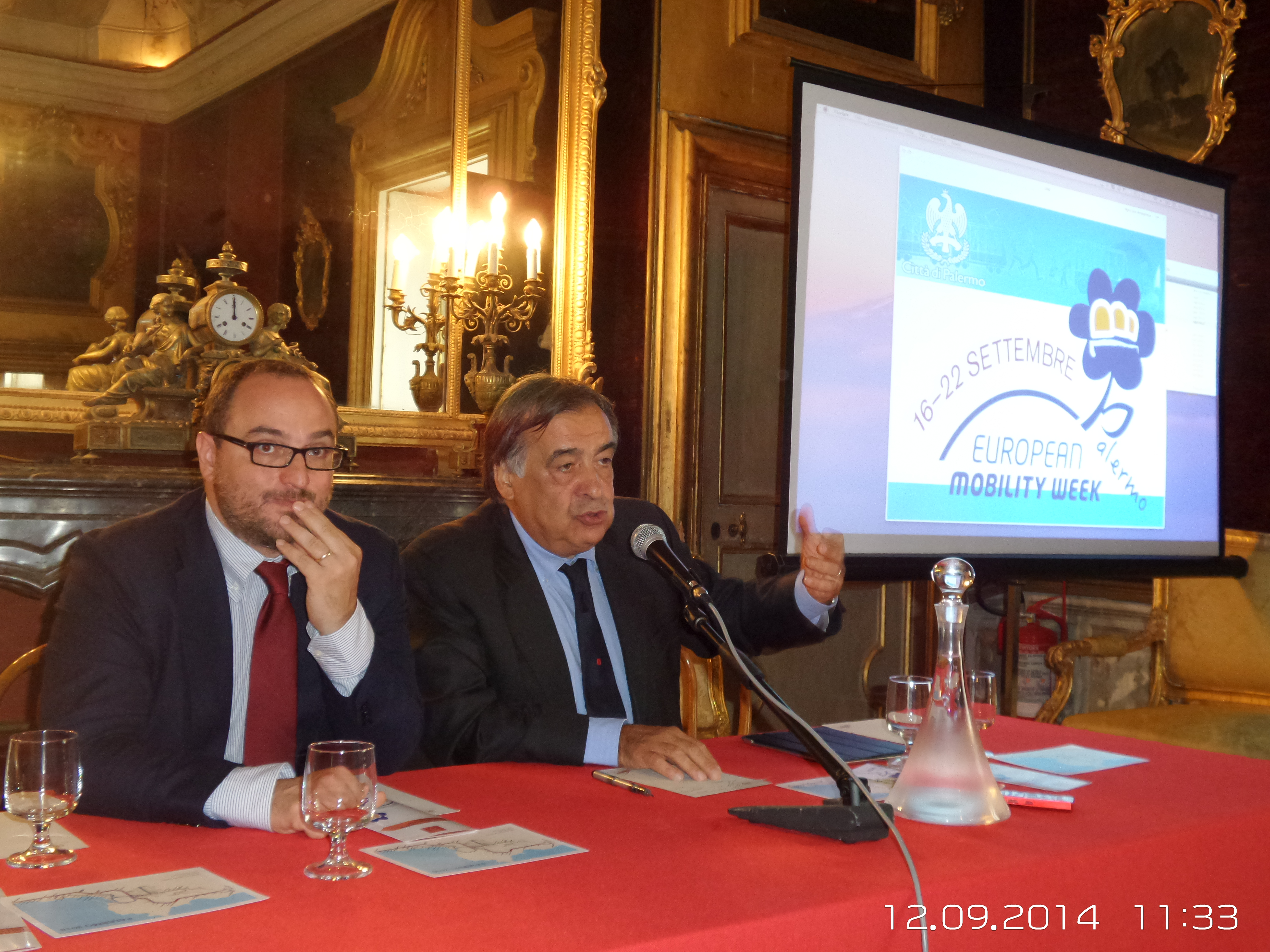 Palermo presentata la 39 39 settimana europea della mobilit for Mobilita palermo